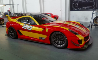 Challenge Bathurst run for special Ferrari