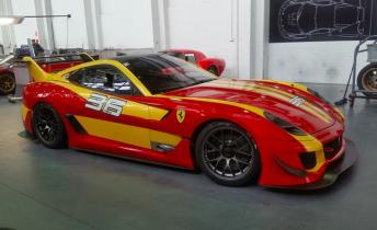 Challenge Bathurst run for special Ferrari