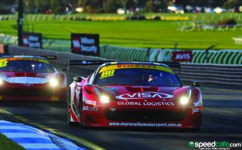 Maranello Ferrari withdrawn from Clipsal field