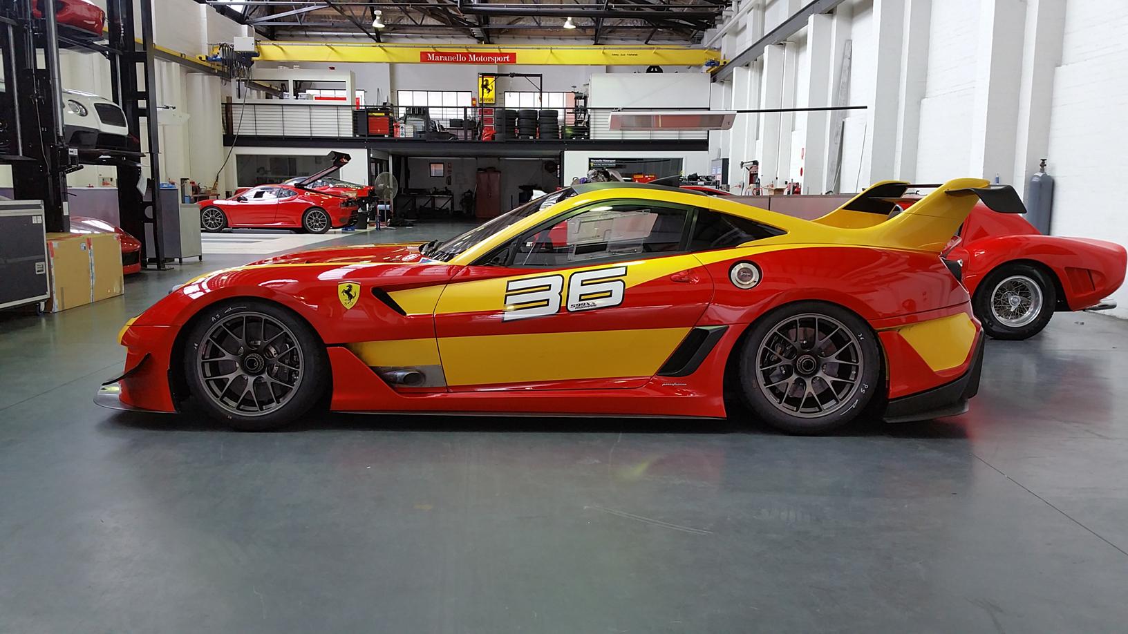 Ferrari 599 Xx Evo Sold Maranello Motorsport